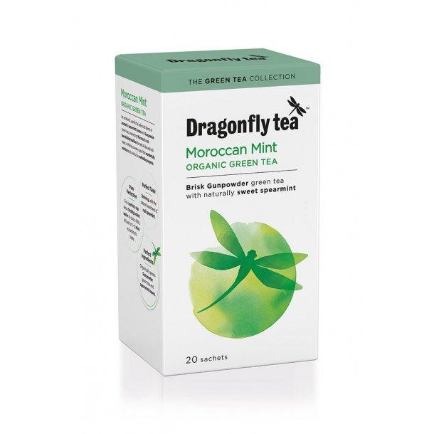 Dragonfly Organic Moroccan Mint Green 20 stk