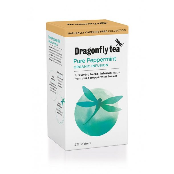 Dragonfly Organic Pure Peppermint 20 stk