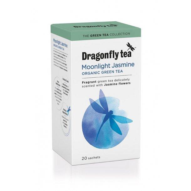 Dragonfly Organic Moonlight Jasmine Green 20 stk.